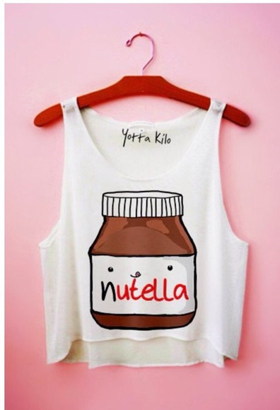 cool shirt summerhype nutella