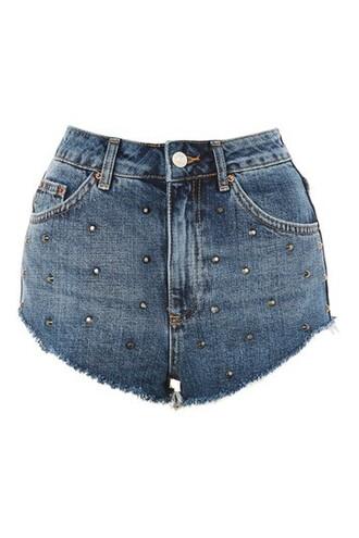 shorts studded