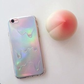 phone cover,holographic,iphone cover,iphone case,beautiful,girly,instagram,love,rainbow