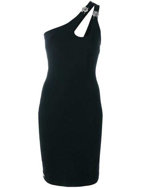 PHILIPP PLEIN dress women spandex black