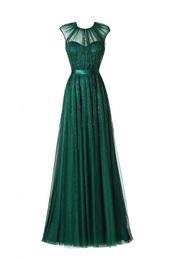 dress,forest green,prom dress,formal