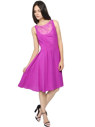 dress lace dress chiffon lace silk