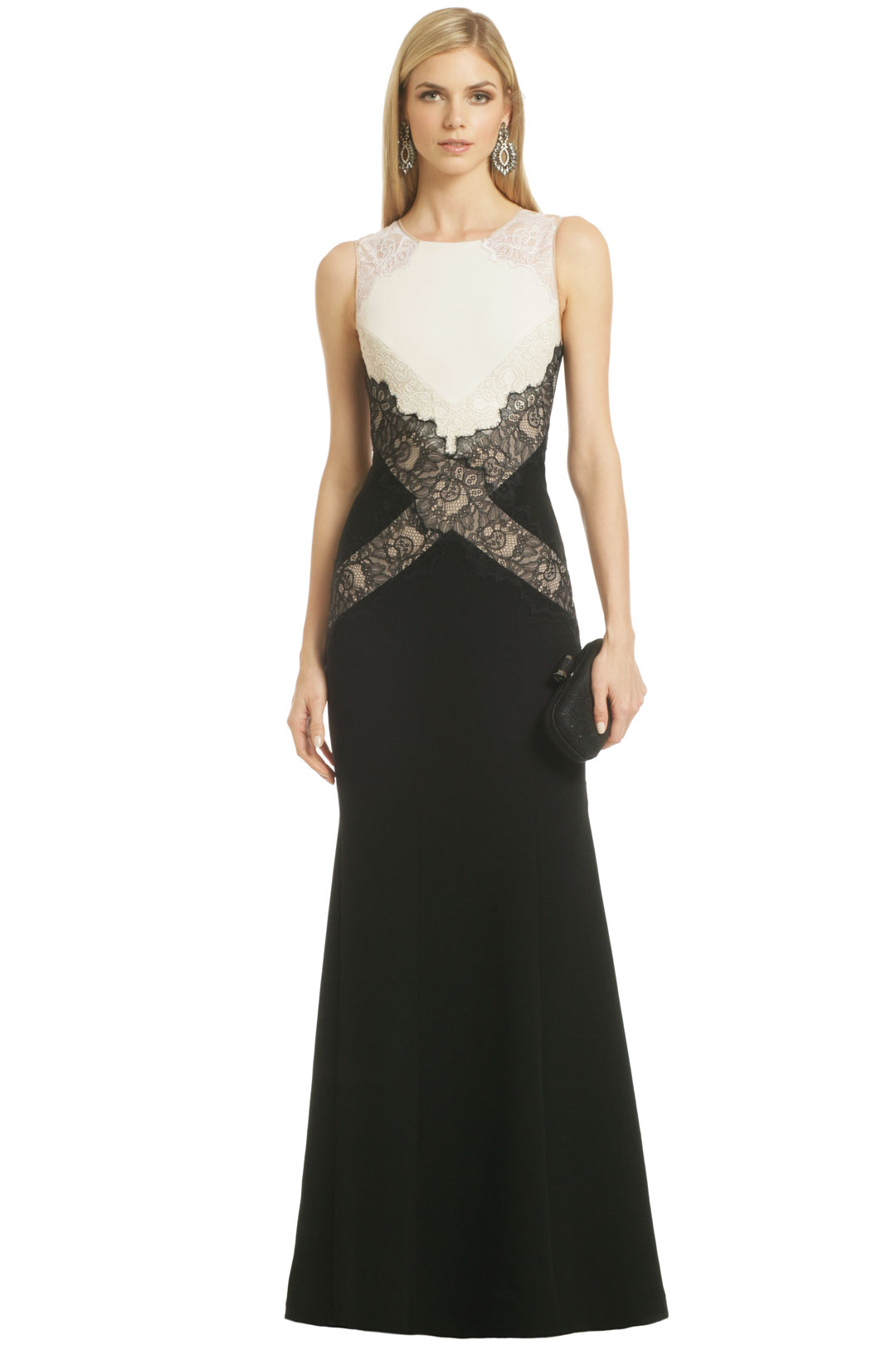 Locket of Lace Gown by BCBGMAXAZRIA at $125 - Page 2 | Rent The Runway