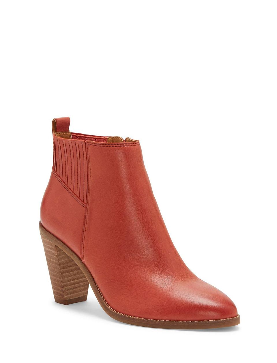 Nesley Leather Bootie