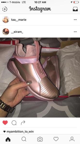 shoes sneakers puma puma sneakers