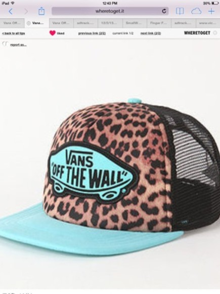 hat vans off the wall