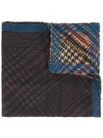 women scarf wool brown