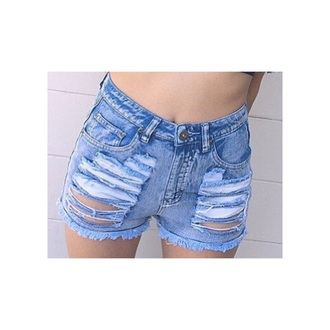 shorts high waisted shorts ripped/distressed/destroyed jean shorts