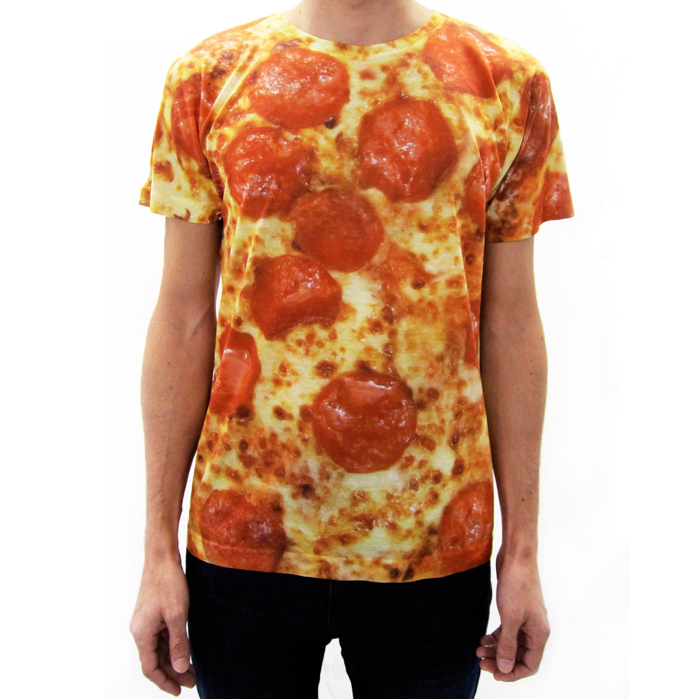 I liked this design on #Fab. Pepperoni Pizza Shirt