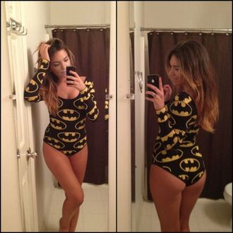 shirt bodysuit batman