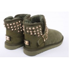 Glamorous boots uggs army green
