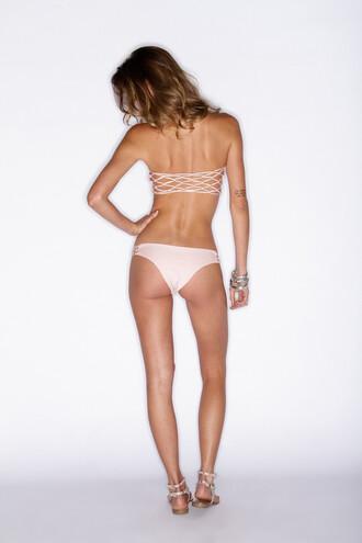 swimwear soah swimwear bikini bottoms cheeky cheeky fit rose pink bikiniluxe