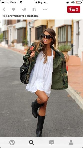 jacket camo jacket