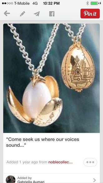 jewels harry potter egg gold