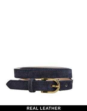 Cinturones de cuero y elásticos