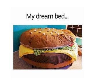 home accessory dream bed really need this bedding hamburger perfect