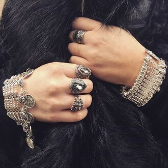 jewels cherry diva gypsy coin gypsy gypsy jewelry gypsy necklace bracelets stacked bracelets charm bracelet silver silver jewelry boho jewelry bohemian bohemian jewelry statement jewelry