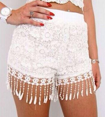 Clementine Tassle Shorts