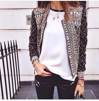 jacket application oriental blazer