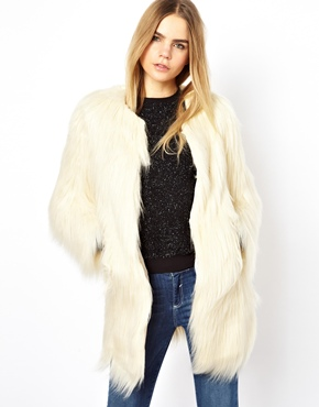 Unreal Fur | Unreal Fur Wanderlust Long Coat at ASOS