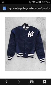 jacket,yankees,sportswear,varsity jacket,navy blue jacket,baseball jacket,sports jacket,adidas jacket,black and white,hooded jacket,adidas sportswear