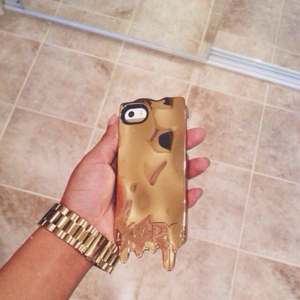 jewels phone cover gold phone cover
