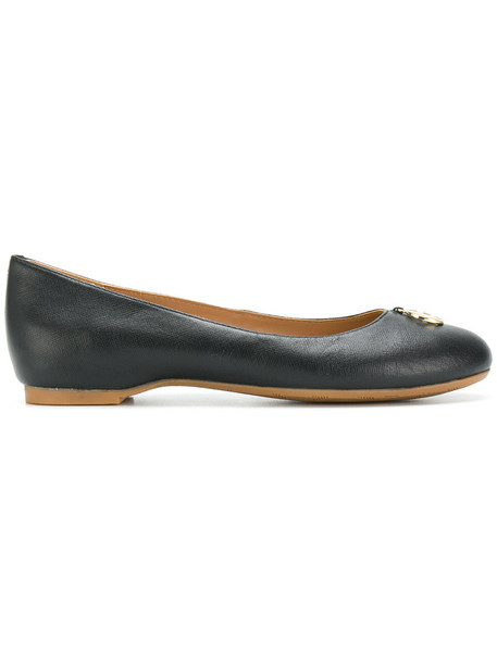 ARMANI JEANS women shoes leather black