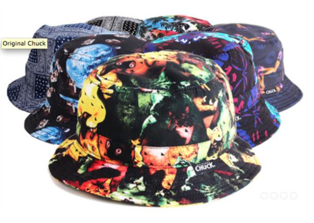 5f18f03282a bucket hat original chuck cats 5 panel camper flowers bandana gentlemen snapback  bucket hat snapback hat