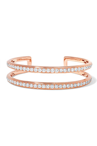 cuff rose gold rose gold jewels