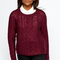 Burgundy cable knit jumper - burgundy | jumpers | knitwear - everything 5 pounds - shop online