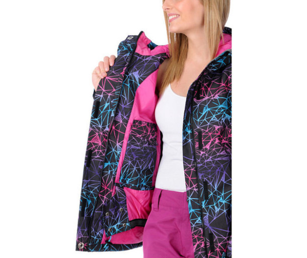 coat pattern pink purple light blue winter outfits zumiez cute