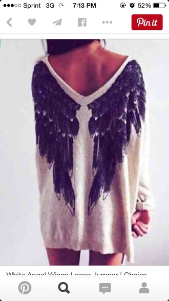 cardigan angel wings oversized sweater oversized cardigan