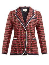 jacket,geometric,red