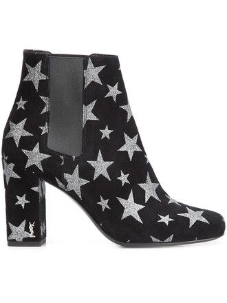women boots ankle boots suede black shoes
