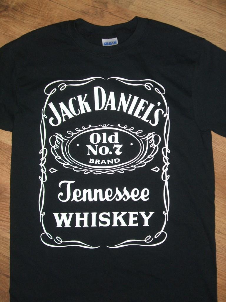 jack daniels t shirt free uk postage ebay. Black Bedroom Furniture Sets. Home Design Ideas
