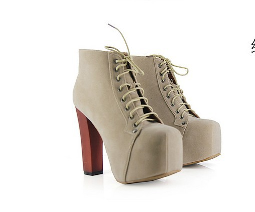Free shipping hotsales jeffrey campbell imitation size35 40 4colors sexy laides high platform high heels ankle boots for women