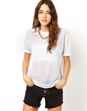 ASOS | ASOS Mesh T-Shirt at ASOS