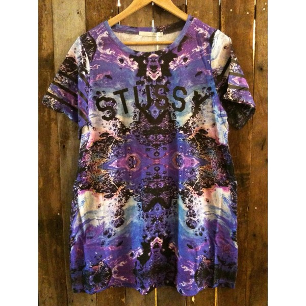 dress stussy purple