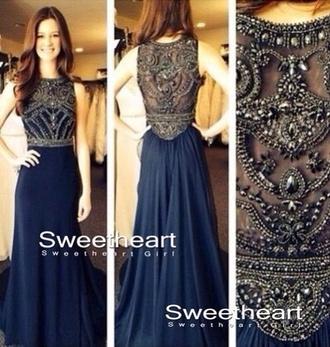 prom dress blue tumblr long dress cap sleeve dress