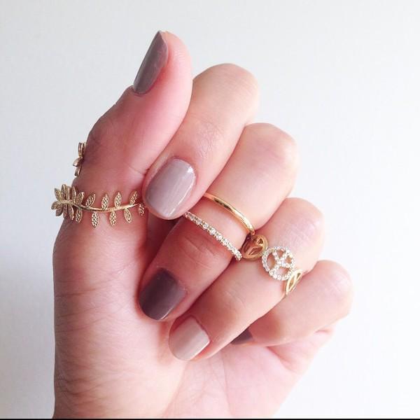 nail polish jewels belt