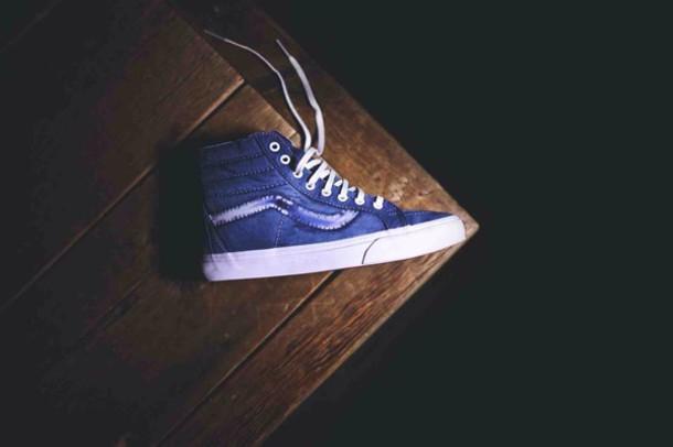 shoes vans vans high top sneakers sk8-hi sk8-hi