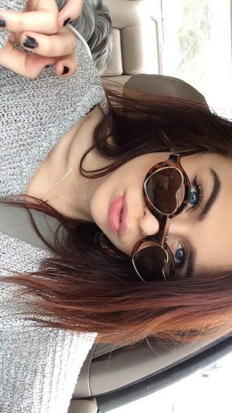 sunglasses heart brown retro round sunglasses heart sunglasses acacia brinley retro sunglasses