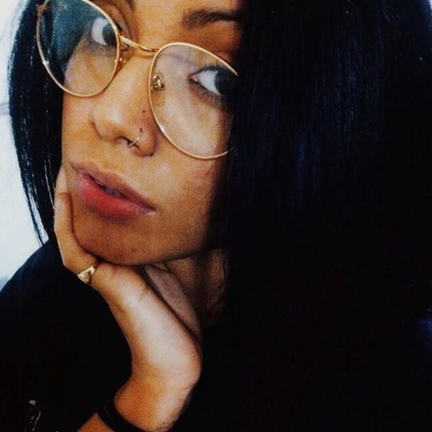sunglasses, glasses, pretty, girl, tumblr, weheartit ...