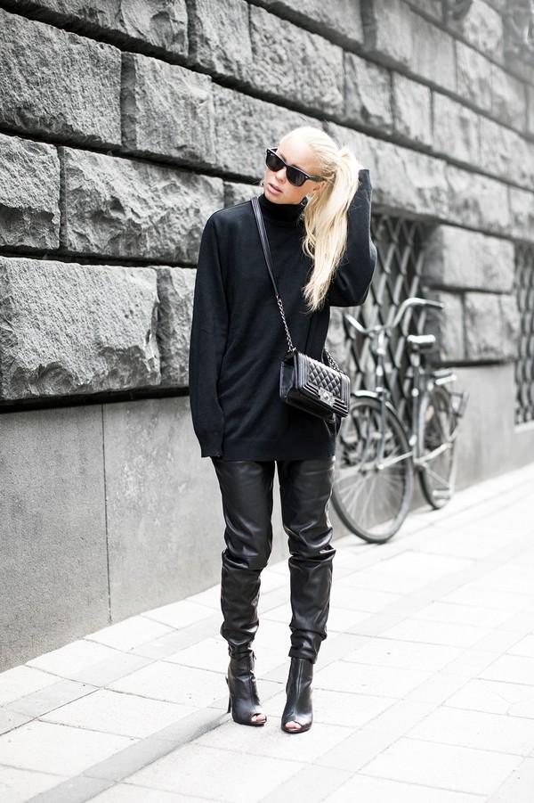 victoria tornegren sweater pants shoes bag sunglasses