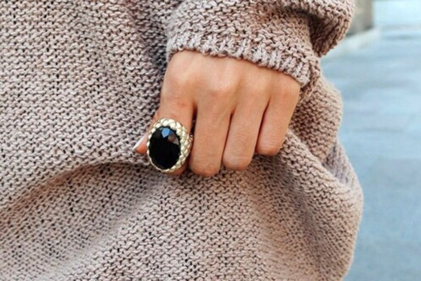 jewels ring gold fashion style