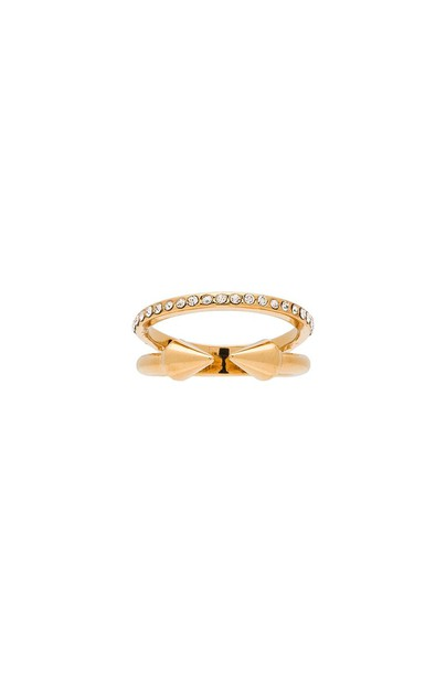 Vita Fede mini ring metallic gold