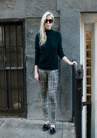 yael steren blogger printed pants