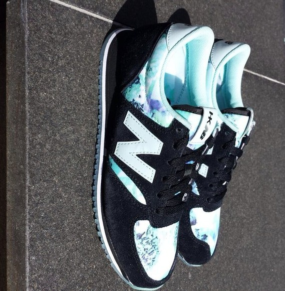 shoes new balance spring collection spring trends 2014 white black light blue