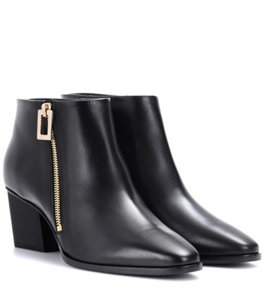 Roger Vivier leather ankle boots ankle boots leather black shoes