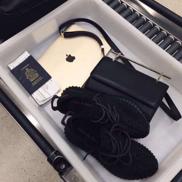 1bf8d24f25ba phone cover macbook gold iphone shoes black hees travel love black bag  black sneakers yeezy adidas